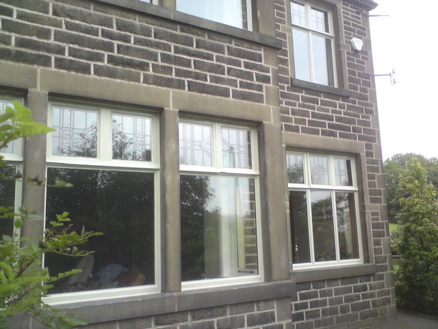 Front Elevation Glass Pictures : Encapsulated original leaded lights